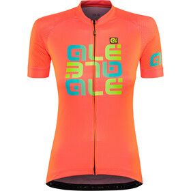 Alé Cycling Solid Mirror Maillot Manga Corta Mujer, lollipop